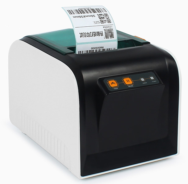Brand New High Quality Stickers Barcode Label Printers Clothing Label Printer Support 80mm Printing Print Speed Is Very Fast