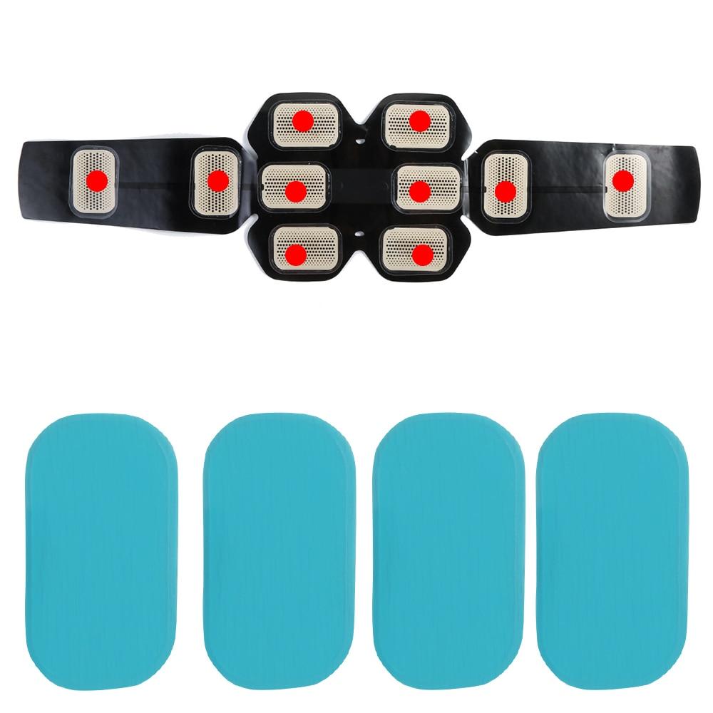 4/6PCS ( 2 Sets) Myostimulator Replacement Gel Pads Hip Trainer Massage Gel Stickers Muscle Stimulator Exerciser Pad Accessories