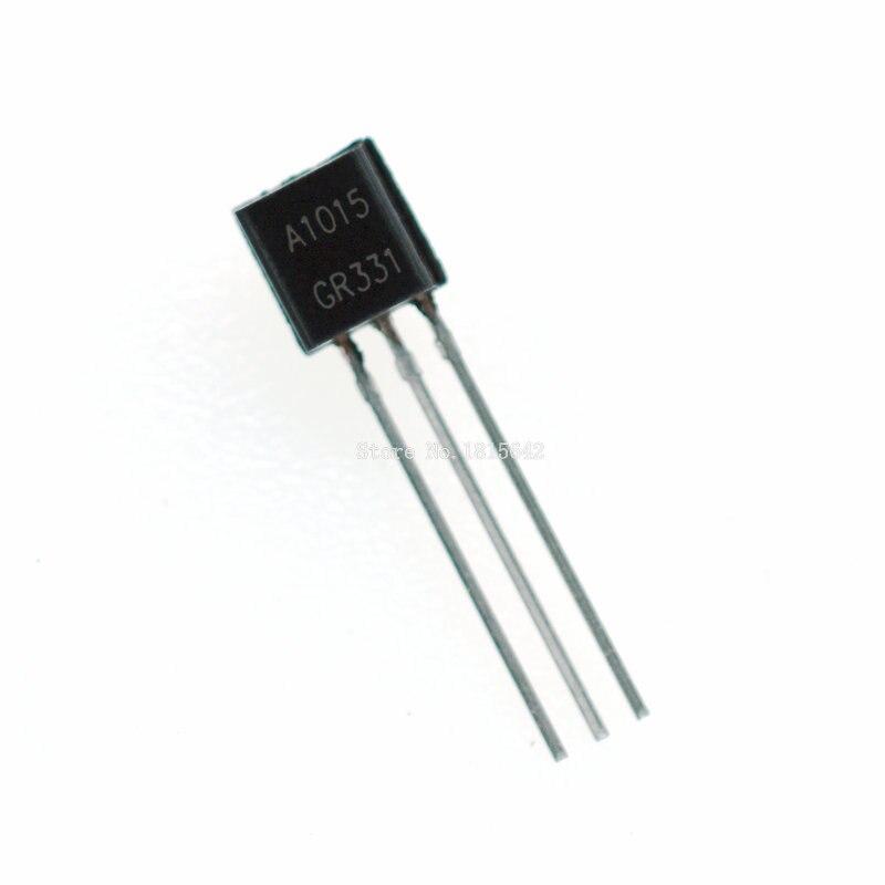 100PCS/Lot A1015 1015 2SA1015 A1015 2sa1015 PNP TO-92 Triode Brand New  Wholesale Electronic