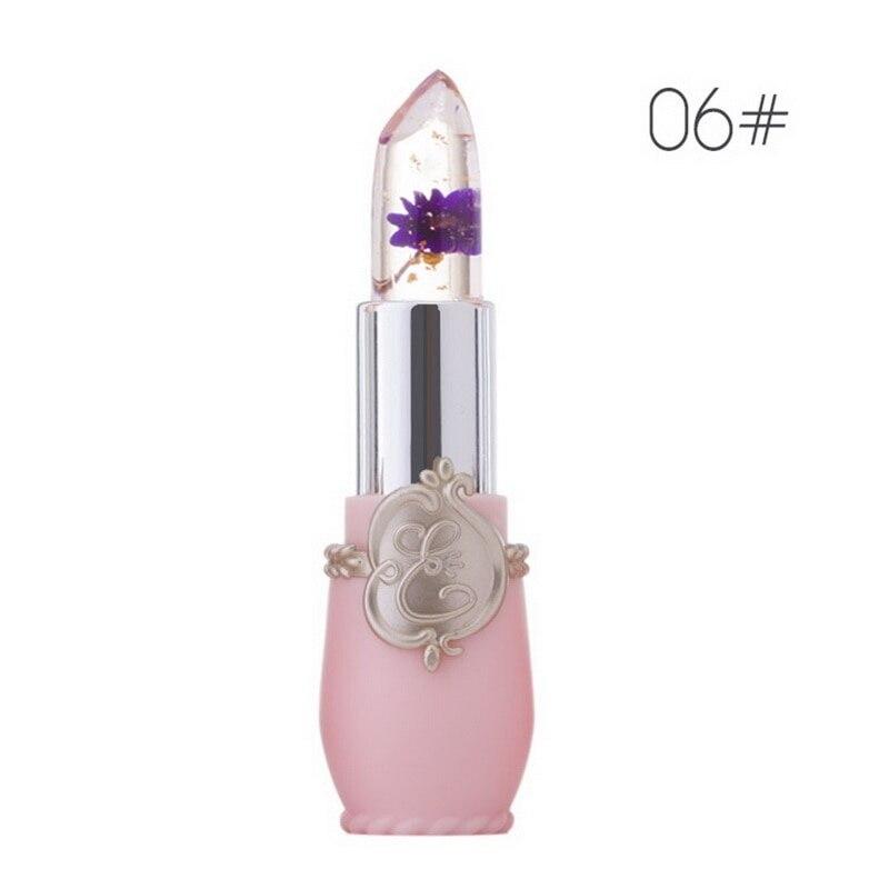 Ενυδατική μακράς διαρκείας Ζελέ Flower Lipstick Μακιγιάζ Θερμοκρασία