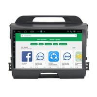 CHOGATH 1024*600 Android 9.0 car dvd for KIA sportage 2011 2012 2013 2014 2015 car pc head unit gps navigation 2din car stereo