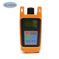 Portable Size Inglemode Fiber Optic Laser Source 1310 1550nm Komshine KLS 25M S Optical Light Source