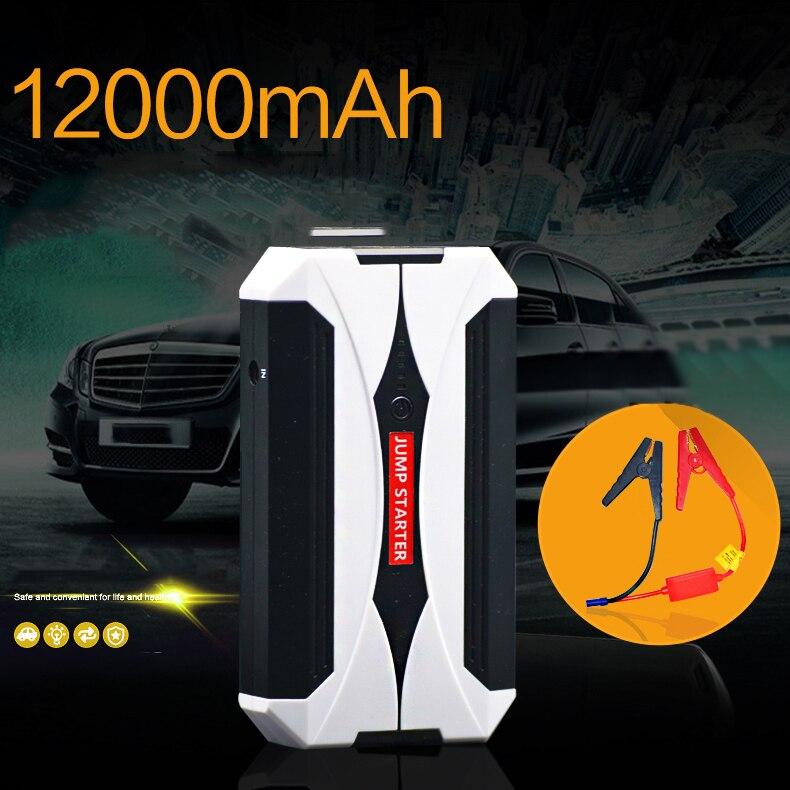 11000 mAh USB voiture saut démarreur batterie externe voiture Booster voiture batterie saut démarreur véhicule Mobile chargeur d'urgence Booster