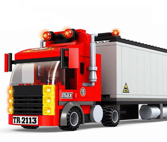 model building kits compatible with lego city fire car 586 3D blocks Educational model & building toys hobbies for children накладной светильник arte lamp cardani a5936pl 1wh