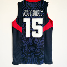 81138174f 15 Carmelo Anthony 9 Dwyane Wade 2008 Dream Team USA bei jing Games  Throwback Basketball Jersey