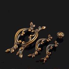 цена на 2.5'' 3.75'' 5'' Dresser Knobs Pulls Drawer Pulls Handles Knobs Antique Brass Kitchen Cabinet Handles Door Handle Pull Knob