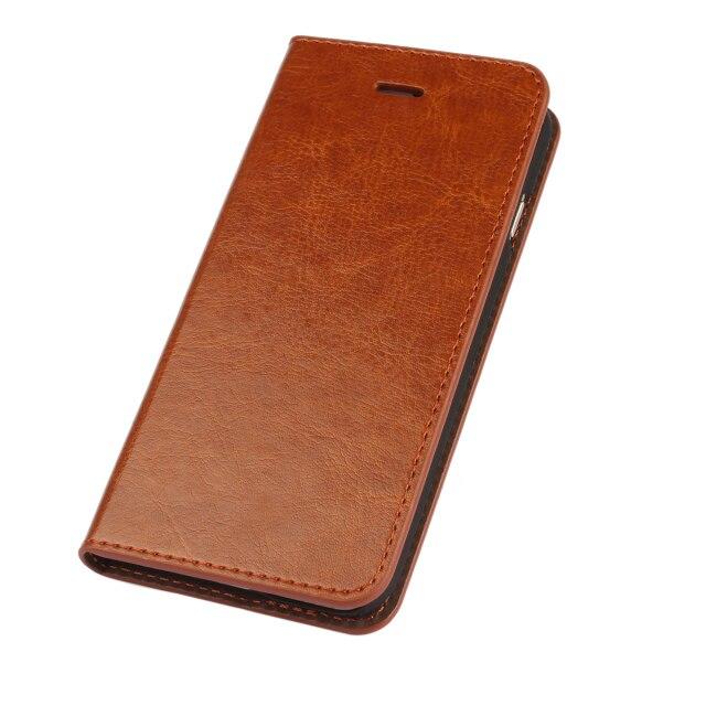 Coque Untuk iphone 6 6 s Asli Nyata Balik Kulit Kasus Pelindung - Aksesori dan suku cadang ponsel - Foto 3