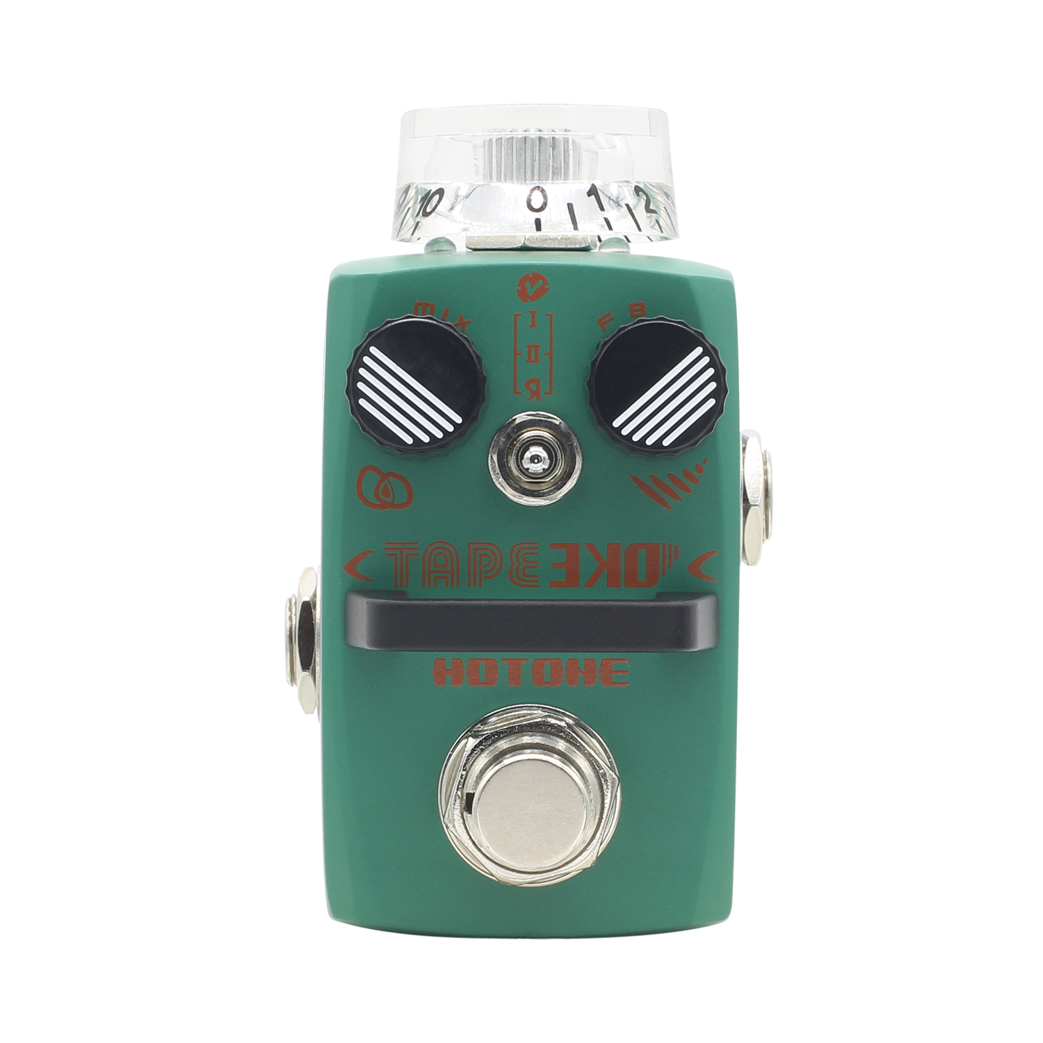 Hotone Tape EKO Delay Effect Pedal True Bypass with 3 Delay Modes Effects for Electric Guitar mooer ensemble queen bass chorus effect pedal mini guitar effects true bypass with free connector and footswitch topper