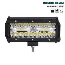 ФОТО barra led 10 pcs 18w 1800lm 6000k led offroad light bar suv truck go kart tractor off road 4x4 led light bar projecteur led 12v