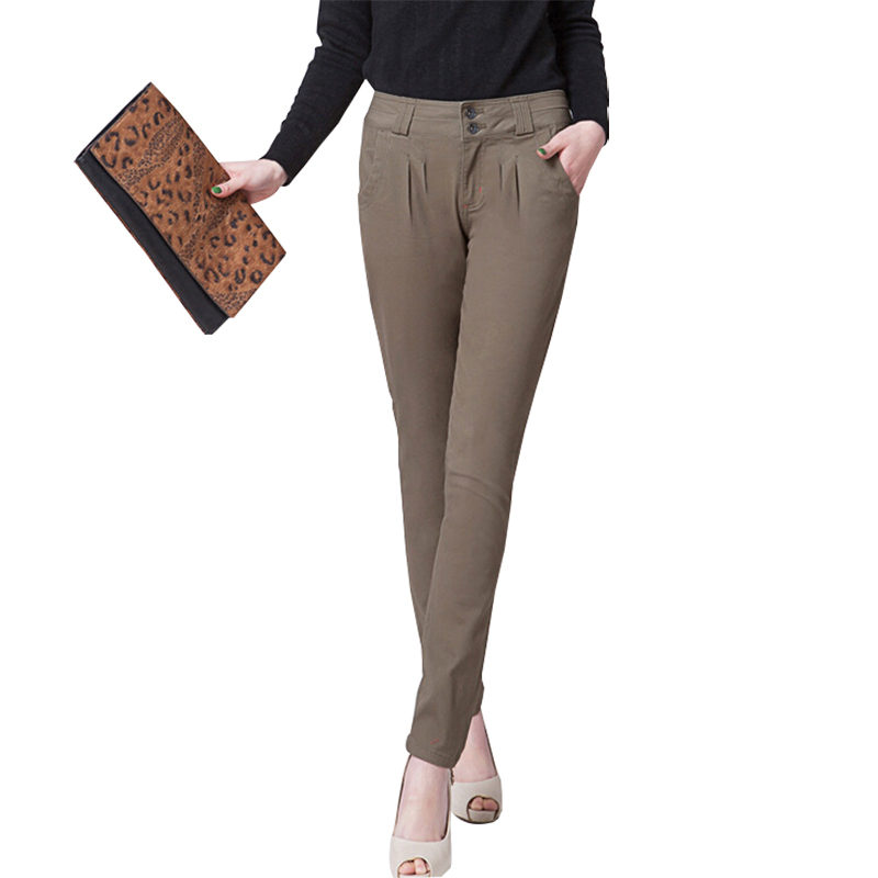 High Quality Trousers Women Pants 2015 Spring Summer Casual Formal Harem Pants Women Office ...