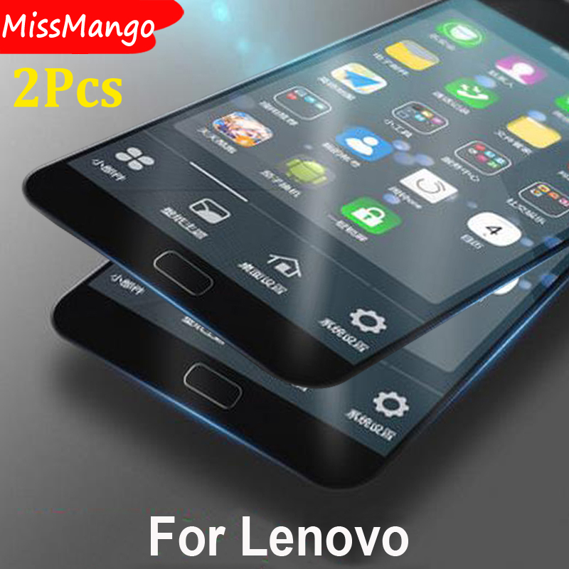 For Lenovo P 1m P 70 P780 P1 Tempered Glass For Lenovo S 660 S650 S60 S580 S860 S850 S939 S920 Screen Protector Films Case 2PCS