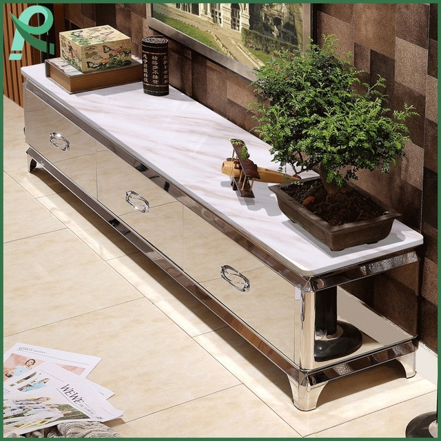 High Quality Modern Marble Coffee Table Tv Cabinet Living Room Tv
