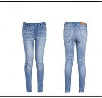 R & H Euro Stijl Classic Sexy Vrouwen Denim Hoge Taille Jeans Vintage Skinny Mom Jeggings Stretchy Slim Lady Leggings Skinny Broek