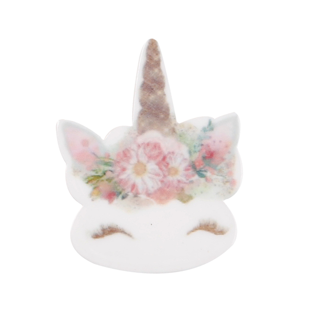 10pcs/lot Personalized Resin Hornhorse Cute Cartoon DIY Accessories For Refrigerator Home Decoration Handmade Crafts 6