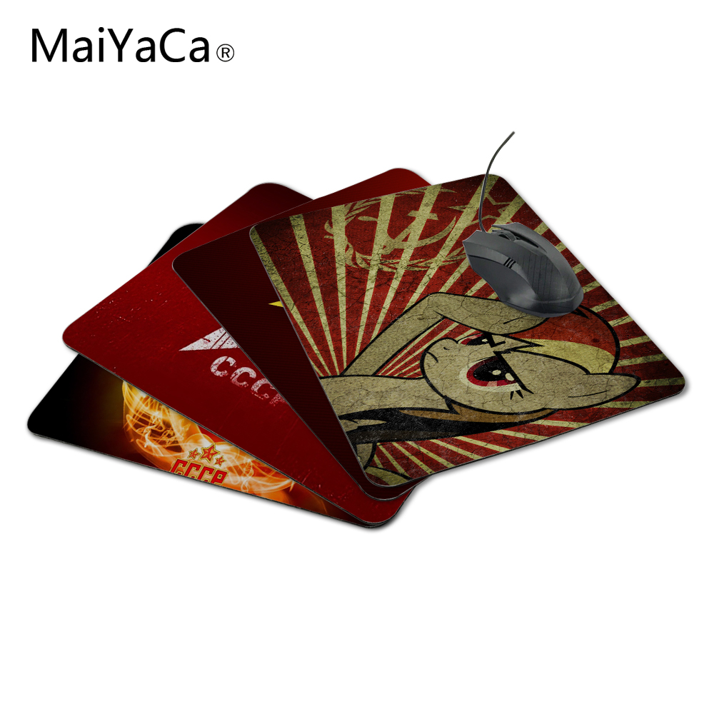 MaiYaCa Rubber Mouse Pad Gaming Mousepad Notbook Computer Mouse Pad Cool to Mouse Gamer Free Shipping For Stars Ussr