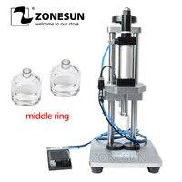 ZONESUN Perfume Bottle Capping Glass Bottle Capping Machine Crimping Machine Perfume Collar Pressing Machine