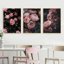 Classical Rose Flowers Wall Art Canvas Painting Nordic Poster Prints Pictures For Living Room Home Decor Unframed