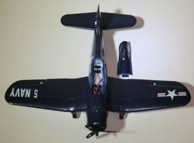 US $99 0 |Flyfly Hobby F4U 5NL Corsair Mini rc warbird airplane RTF, no  battery version-in RC Airplanes from Toys & Hobbies on Aliexpress com |