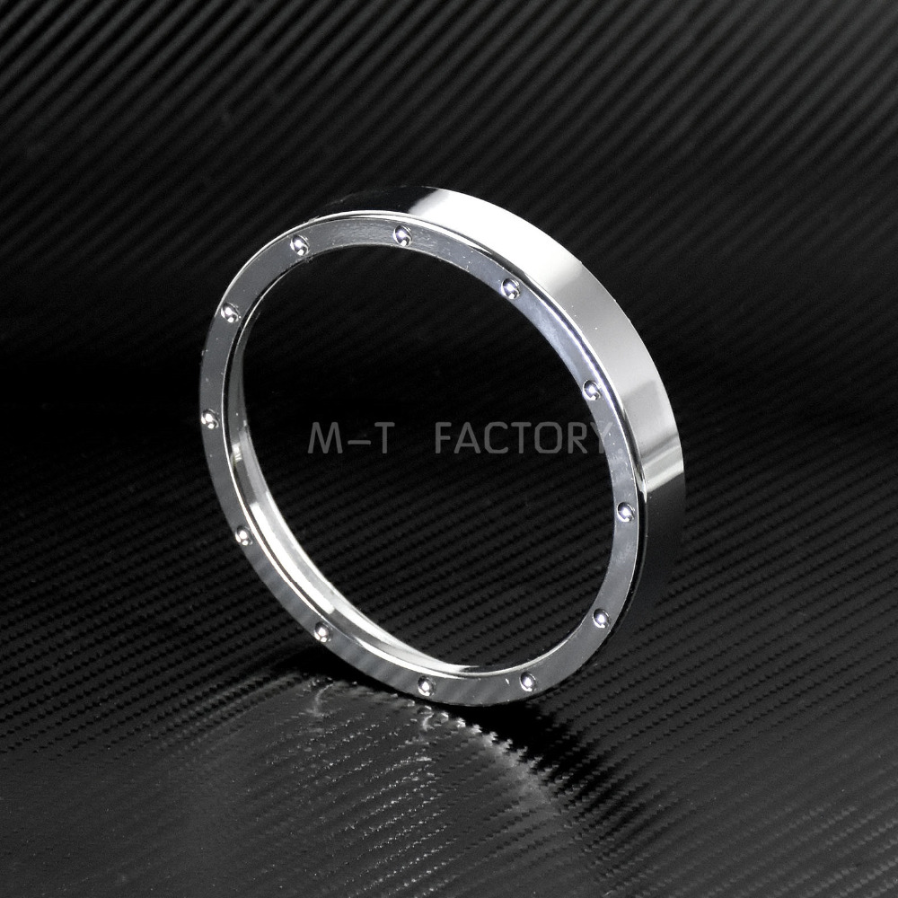 Motorcycle Speedometer Trim High Quality Metal Chrome For Harley 883 1200 Dyna Street Bob Low Rider Models