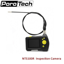 NTS100 1M Endoscope Borescope Snake Inspection 8.2mm 2.7″ LCD display Tube Camera for Car maintenance view pipeline check view