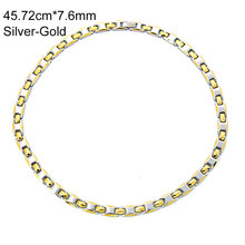 38 brand 2019 vintage women silver gold plating chocker magnetic elegant female necklace for christmas gift(China)
