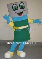 NO 1 MASCOT Flashlight Mascot Costume Custom Fancy Costume Anime Cosplay Kits Mascotte Theme Fancy Dress