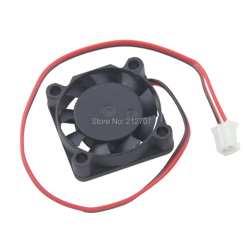 1PCS Gdstime 25mm 5V 2Pin 2 5cm 2507 25x25x7mm 9 Blades DC Mini Cooling Fan in Fans Cooling from Computer Office
