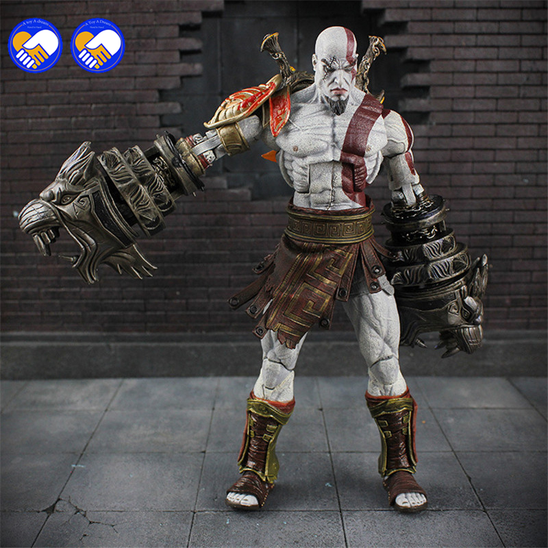 A toy A dream 22cm/9 NEW God of War 3 Ghost Of Sparta Kratos Ultimate PVC Action Figure doll Collectible Model Toy in box