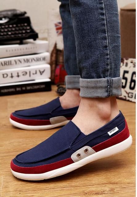 Men Stylish Breathable Casual Flat Shoes latest new styles for sale outlet lowest price Q5cvAXe9hc