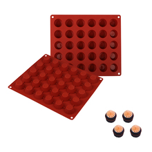 30 Holes Muffin Cupcake Silicone Baking Tray For Pudding Jelly Ice Cube Mould Handmade Soap Mold Kitchen Pastry Chocolate Mould skeleton skull head silicone chocolate muffin cupcake candy ice cube mold halloween
