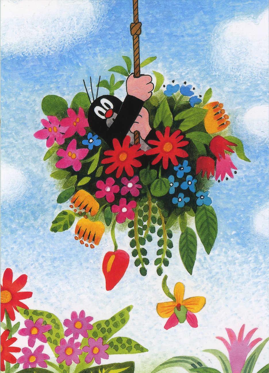 Tsjechische Cartoons Krtek Mol Canvas Schilderij Vintage Kraft Posters Klassieke Muurstickers Wall Art Voor Nursery Kids Slaapkamer