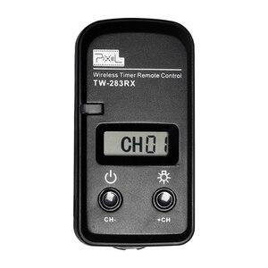 Image 2 - بكسل TW 283 الموقت اللاسلكية التحكم عن بعد مصراع الإصدار (DC0 DC2 N3 E3 S1 S2) كابل لكانون نيكون سوني كاميرا TW283