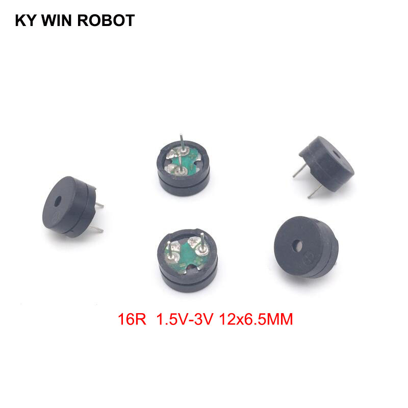 5PCS/Lot Passive Buzzer AC 12MM*6.5MM 12065 16R Resistance 1.5V-3V In Common Use New Wholesale