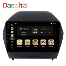 Dasaita 9″ Android 8.0 Car GPS Radio Player for Hyundai IX35 2009-2015 with Octa Core 4GB+32GB Auto Stereo Multimedia