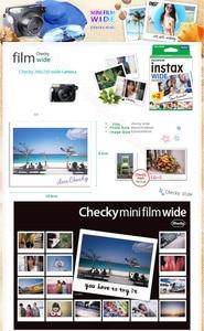 Image 5 - 정품 새 Fujifilm Instax 와이드 필름 화이트 60 사진 인스턴트 포토 용지 카메라 Instax 와이드 200 210 300 앨범 선물