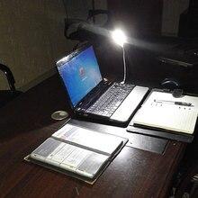 Mini USB New 1pcs  LED Night Light 8LEDs 5V Bulb Cold White Lamp for Reading Gadget Notebook Power Bank Computer Laptop