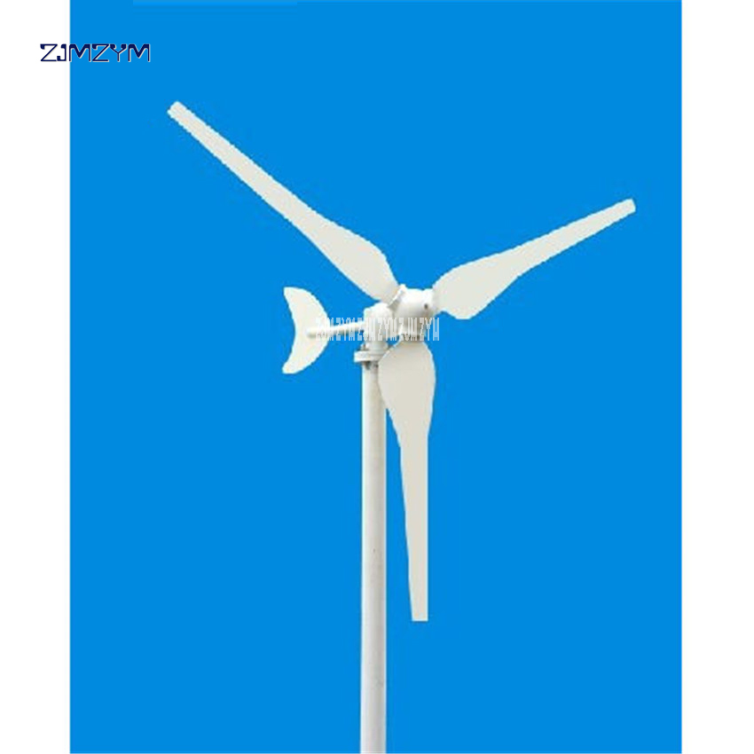 P-50W New Arrival Small wind turbine , 12/24V Option Wind Generator , 50W Wind power Generator 1050r / m speed 3 pieces leaves victor lyatkher m wind power turbine design selection and optimization