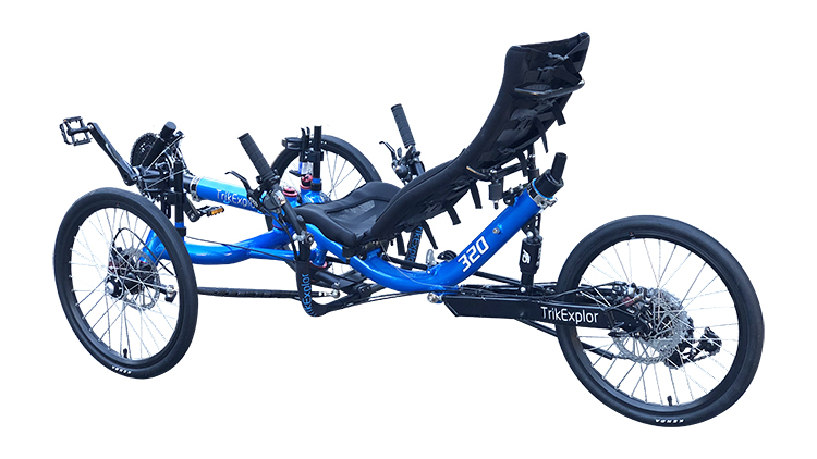TrikExplor suspension recumbent trike 320 (6)