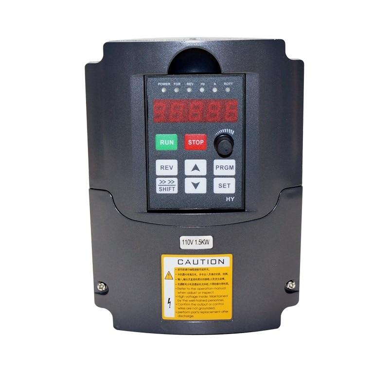 CNC machine de gravure fréquence convertisseur onduleur 1.5kw 2.2kw fréquence variable drive bois routeur VFD graveur pièces