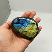 Natural feldspar moonstone, decoration, natural stone, not processed