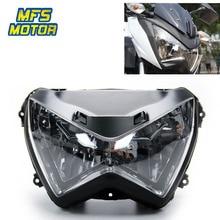 For Kawasaki 2012 ZX800 13-15 Z250 Motorcycle Front Headlight Head Light Lamp Headlamp Assembly 2012 2013 2014 2015 цена