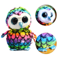 Owl Stuffed Animals Toys Beanie Boos Big Eyes Plush Kawaii For Child Baby