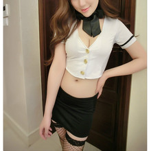 New hot selling japanese school uniform sexy lingerie costumes for school girls costumes erotic students mini dress