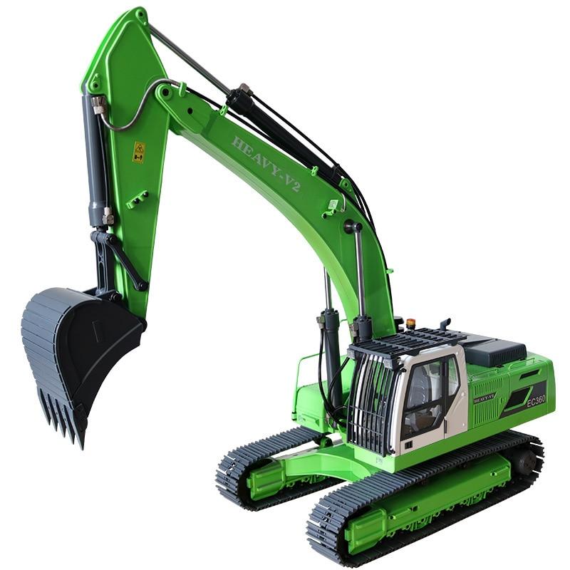US $2698 0 |1/14 Scale Volvo RC Hydraulic Excavator 2 0 Version(1/14 Earth  Digger 360L Hydraulic Excavator)-in RC Cars from Toys & Hobbies on