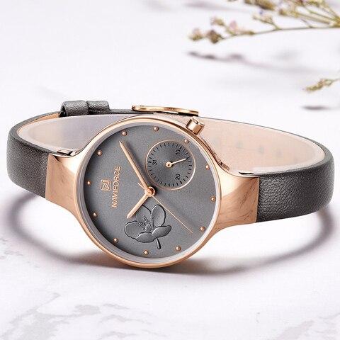 NAVIFORCE Women Watches Top Brand Luxury Watches Women Fashion Watch 2019 Woman Watch Quartz Female Clock Relogio Feminino Islamabad
