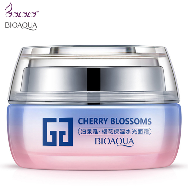 BIOAQUA Day creams moisturizer Anti-Wrinkle Hyaluronic Acid Face Cream Anti-Aging Whitening Moisturizing Skin Care Facial Cream omylady 30g face creams korean cosmetic deep moisturizing day cream hydrating anti wrinkle whitening lift esseence skin care