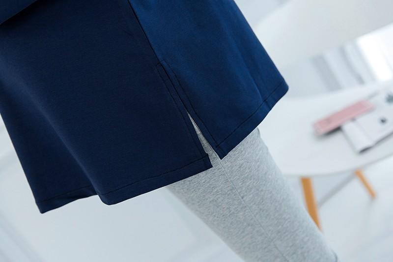 новый ~ осень и весна Автомобилист верхняя одежда до груди вязание хлопок раза блузка и рубашки для беременных milo Radial верхняя одежда