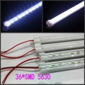 50 * 50cm 36LEDs SMD 5630 LED Rigid Strip led Light Bar waterproof DC 12V  + U Aluminium profile channel, 50sets/lot, Wholesale