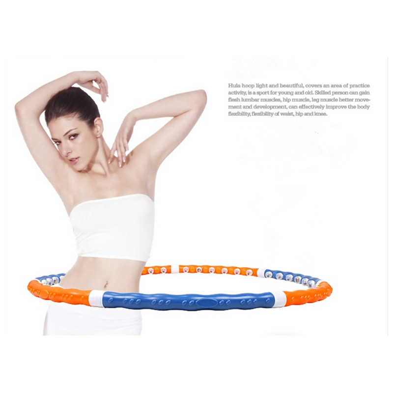 Removable Magnetic Massage Hoop Hula Hoop Slimming Fitness Equipment For Home Weight Loss 1 KG 110CM Free Shipping напольная акустика paradigm persona 9h aria metallic blue