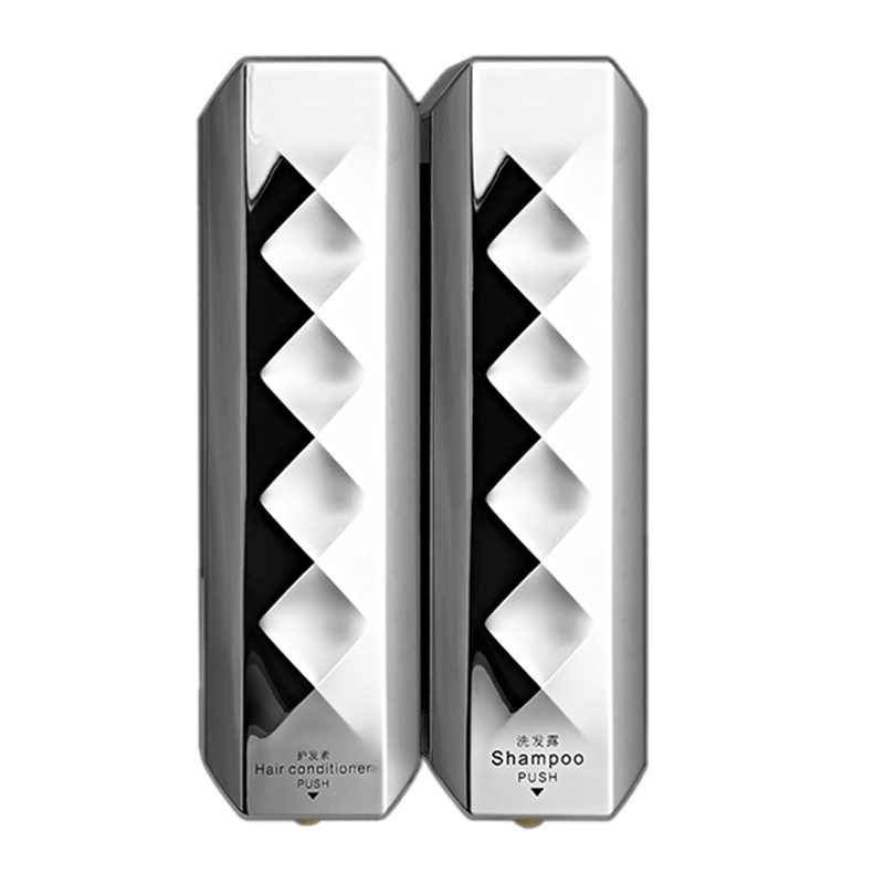 Wall-Mounted Double Heads Soap Dispensers Home Hotel Toilet Bathroom Liquid Soap Dispensers